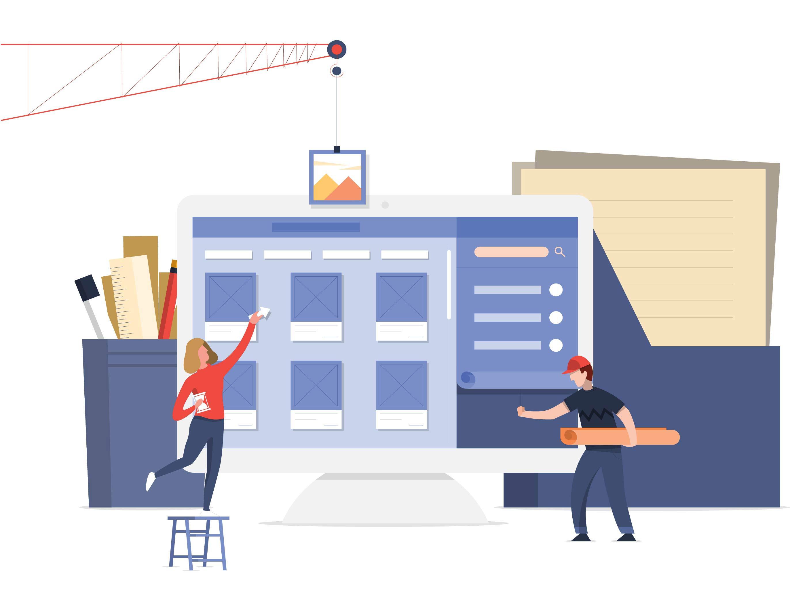 网站内容建设如何做,做网站内容需要注意什么